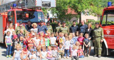 Feuerwehrtag im Kindergarten