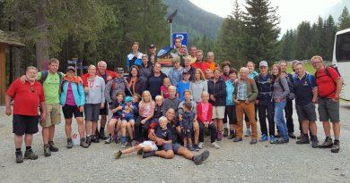 Familien-Sport-Wandertag im Pöllatal