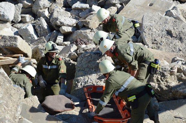 Spittaler Feuerwehren übten für Katastropheneinsätze