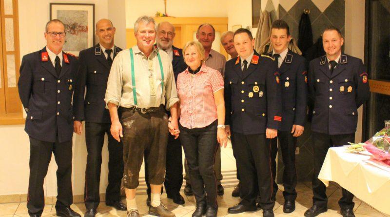 Feuerwehrkamerad Reinhard Lassnig feierte 60. Geburtstag