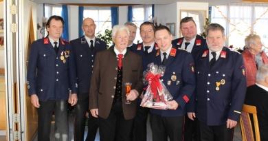 Ehrenkommandant Jakob Kleindienst feierte 80. Geburtstag