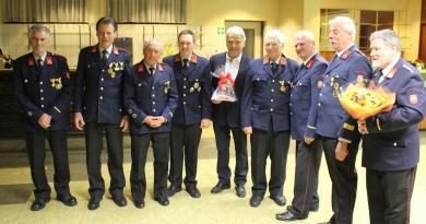 Feuerwehrkamerad Adi Unterrieder feierte seinen 70. Geburtstag