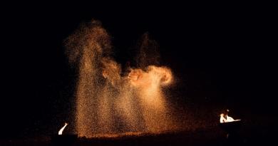 Einsatz während Jubiläumsfest: Feuerschein in Nußdorf