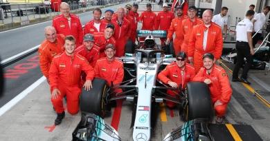 Brandschutzdienst beim Formel 1 GP 2018