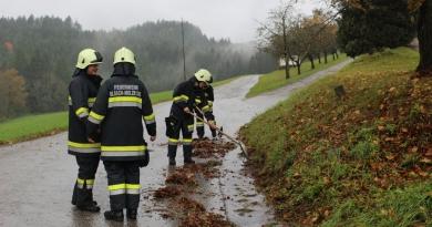 Starkregen: Vorsorgliche Maßnahmen im Einsatzgebiet