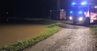 Drau-Hochwasser in Olsach-Molzbichl fast ohne Schäden überwunden