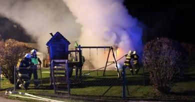 Wohnhausbrand in Politzen verhindert