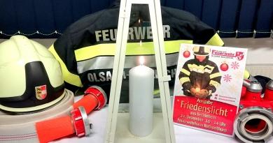 Friedenslicht-Aktion bei der Feuerwehr Olsach-Molzbichl ins Leben gerufen