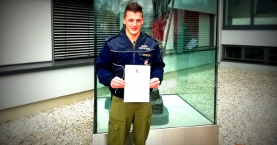 Ausbildung zum Gruppenkommandant erfolgreich absolviert