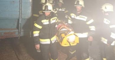 Gemeinschaftsübung mit der Feuerwehr St.Peter/Spittal