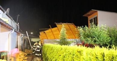 Sturmschäden in Spittal