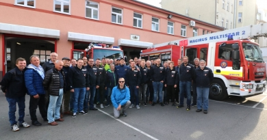 Exkursion zur Feuerwehr Bratislava