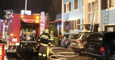 Wohnungsbrand mit eingeschlossenen Personen