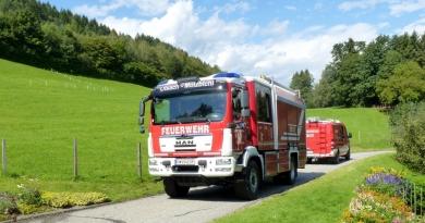 Gemeinschaftsübung der Feuerwehr Paternion