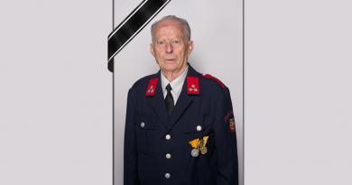 Altkamerad Hermann Stampfer verstorben