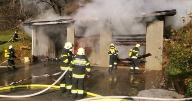 Brand Nebengebäude