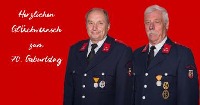 Zwei 70er in der Feuerwehr Olsach-Molzbichl