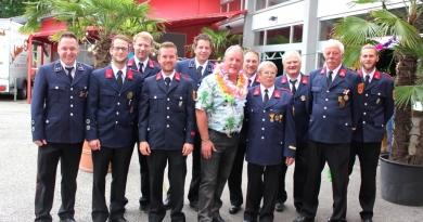 Kommandant-Stv. Anton Macek feierte 60. Geburtstag